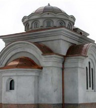 Church on New Cemetery - Krusevac