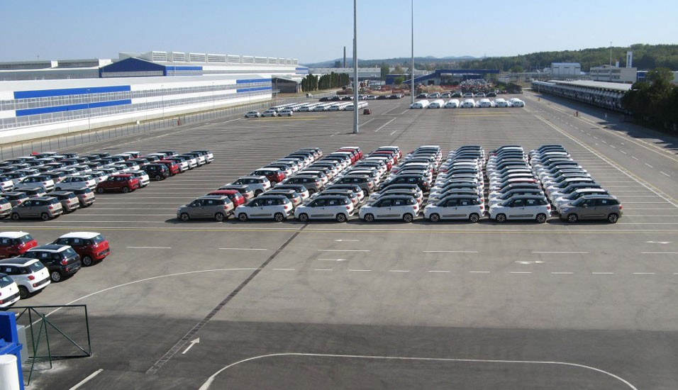 FIAT - Parking prostor